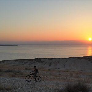 טיול אופניים בים המלח
